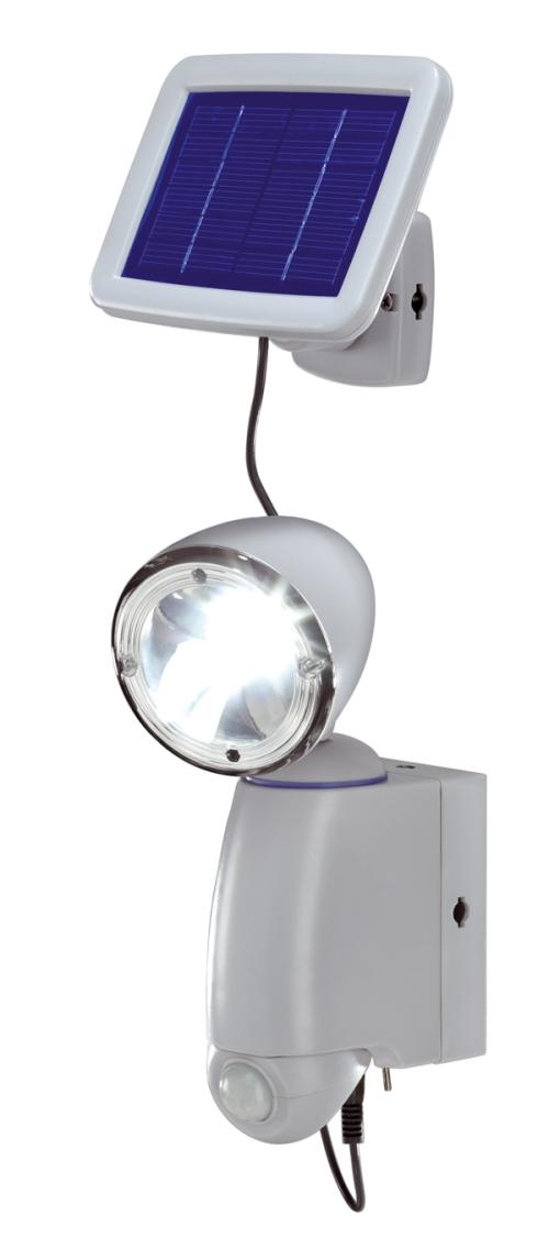 Foco solar orientable con sensor de movimiento tfv solar - Foco con sensor de movimiento ...