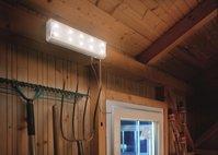 L mparas solares para cobertizos garajes casetas interior tfv solar - Lamparas solares interior ...