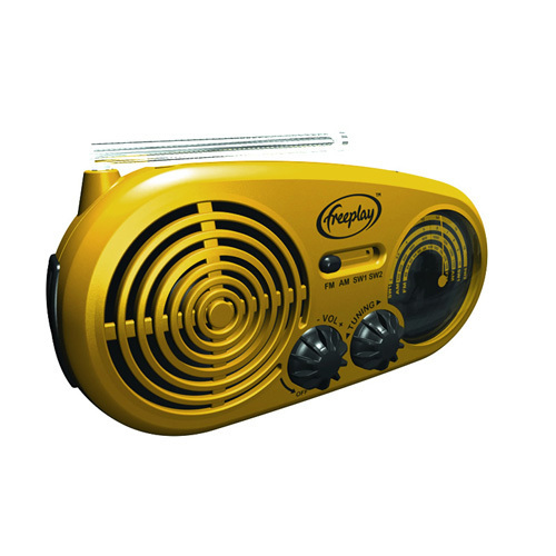 Radio solar multibanda cargador linterna led Freeplay Assist