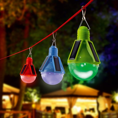 Bombillas Solares De Led De Colores Party Time Tfv Solar