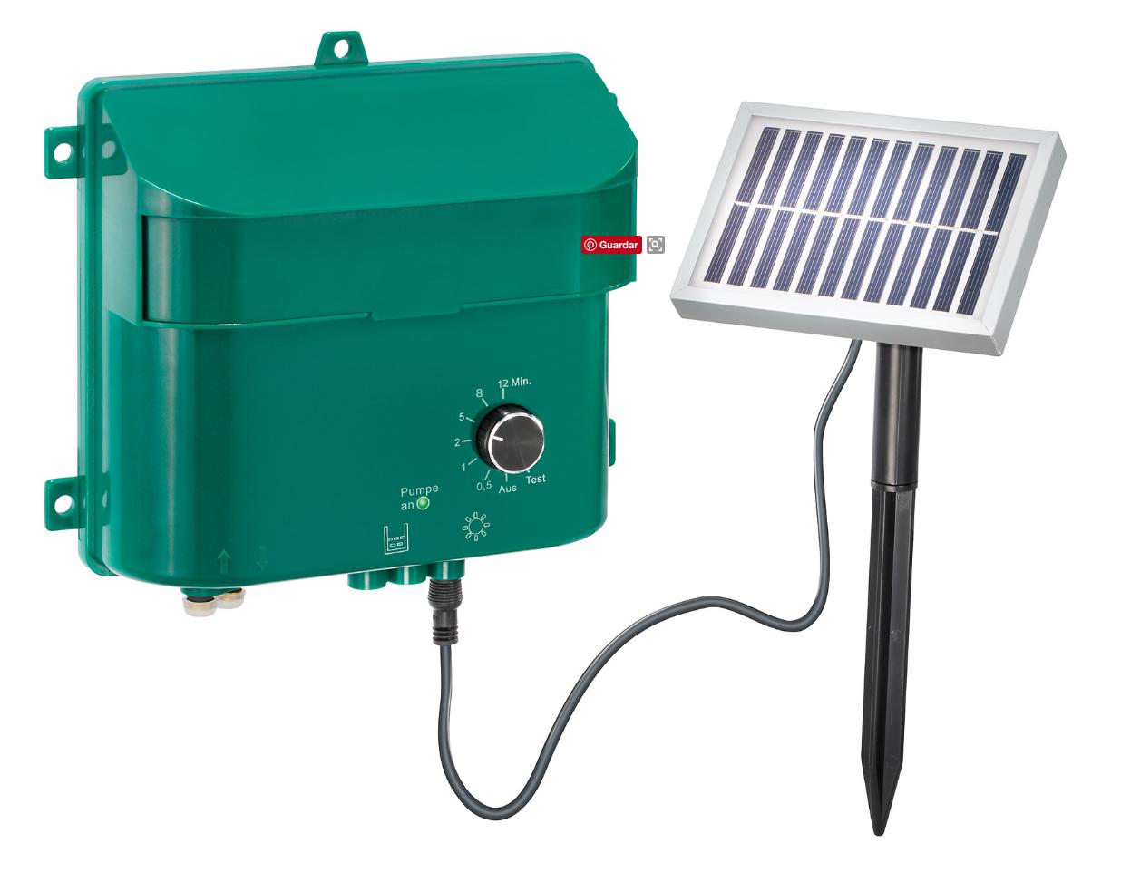 Kit solar para riego nueva energa solar bomba de agua - Kit riego por goteo ...