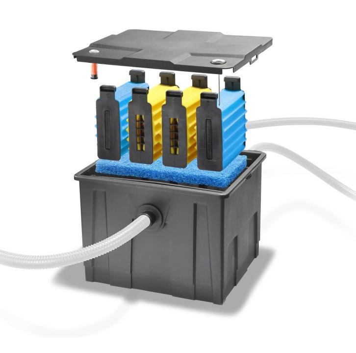 Sistema de filtrado de agua para estanques hasta l - Filtrado de agua ...