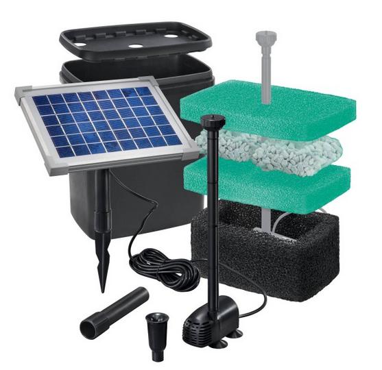 Ver tema bomba solar con filtro for Filtro natural para estanque