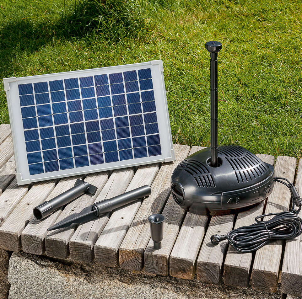 Kit solar de filtrado estanques pro 630 tfv solar for Como mantener un estanque limpio