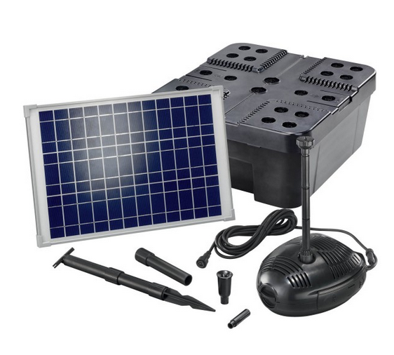 Kit solar de filtrado estanques Pro 1300