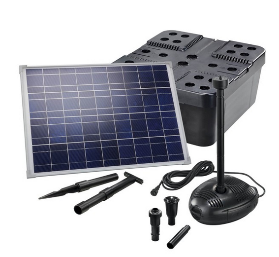Kit solar de filtrado estanques Pro 1700
