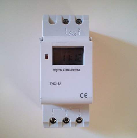Programador digital 24v tfv solar for Reloj programador piscina precio