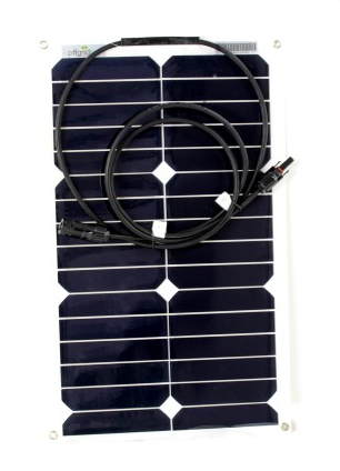 Panel solar flexible 20w de alta eficiencia.
