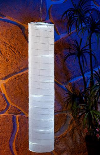 L mpara solar decorativa columna 10 leds 100 cm tfv solar for Lamparas para cenadores