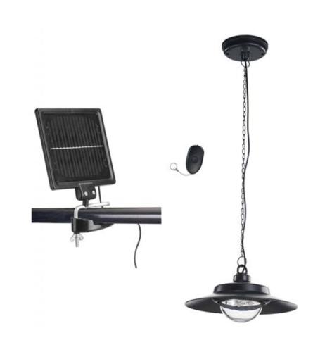 L mparas solares para cobertizos garajes casetas interior tfv solar for Lamparas de luz solar para interiores