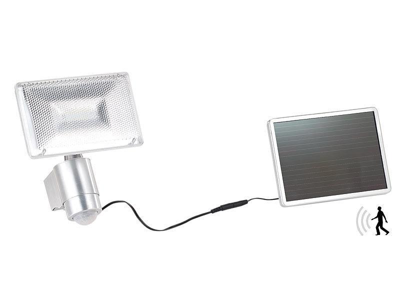Foco solar led de seguridad 10w con sensor de movimiento - Foco con sensor de movimiento ...