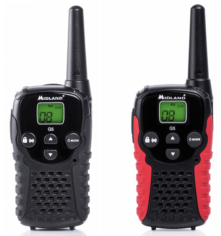 Midland G5C walkie talkies