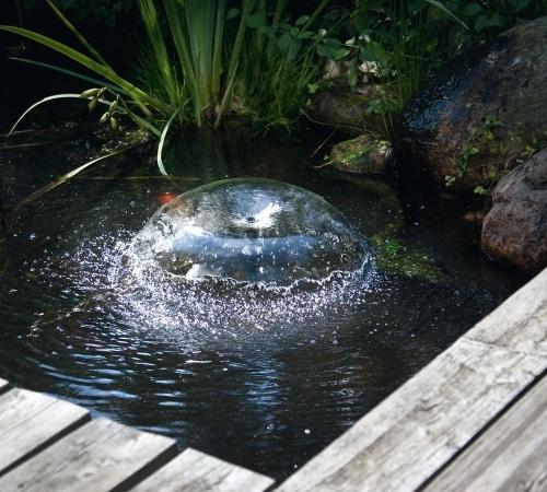 Fuente solar siena 20 wp 1300 l h 1 7 metros tfv solar for Como oxigenar el agua de un estanque sin electricidad