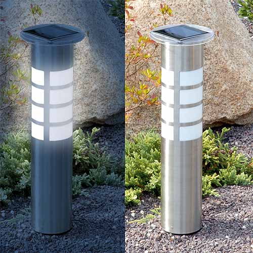 L mpara solar de jard n atlanta tfv solar for Iluminacion solar jardin