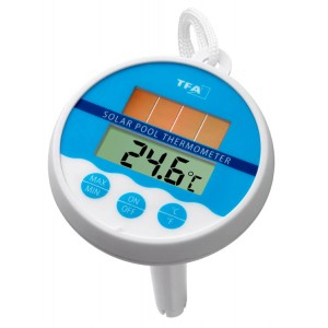 Term metro digital solar para piscinas tfa tfv solar for Thermometre digital pour piscine