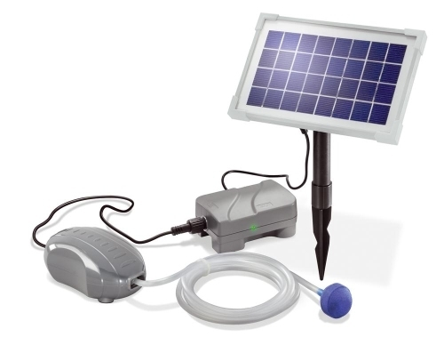 Oxigenador solar para estanques Solar Air Plus, con batería
