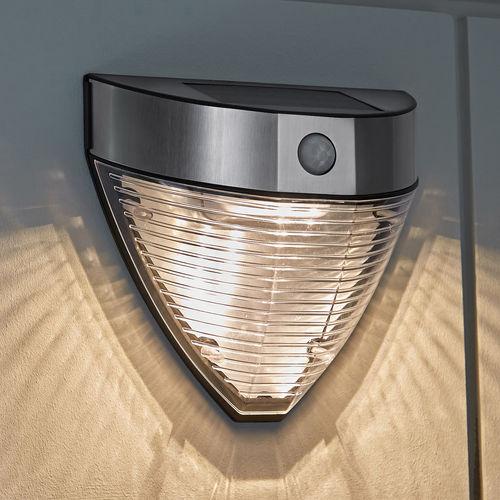 c7ff0ade0a822 Lámpara solar de pared con doble función de luz