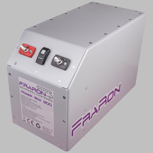 Power box con batería de litio LiFeYPo4 200Ah