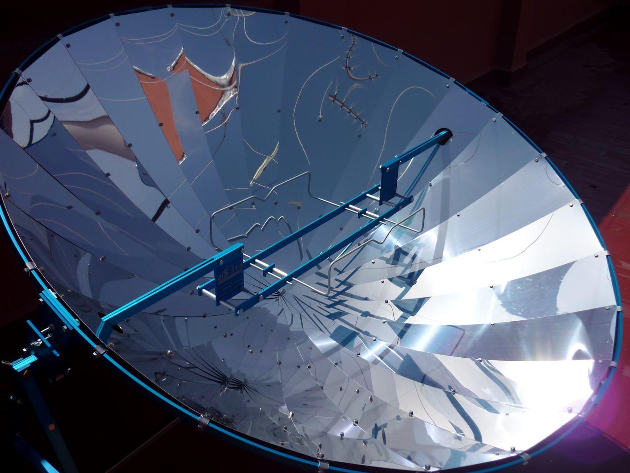 Alsol 1 4 Cocina Solar Parabolica 1800 Wp 140 Cm Aluminio 100